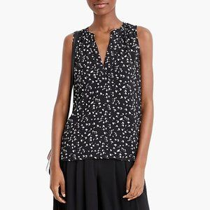 J.Crew 365 Sleeveless Falling Daisies Floral Top